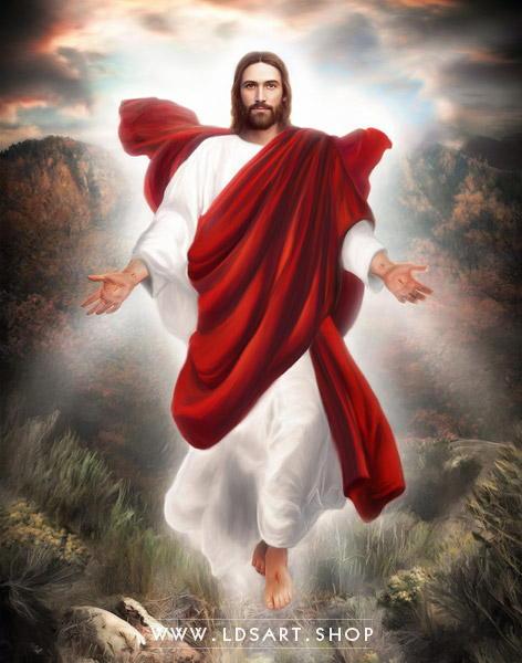 Jesus Second Coming Painting : jesus, second, coming, painting, Jesus, Christ, Second, Coming, Painting