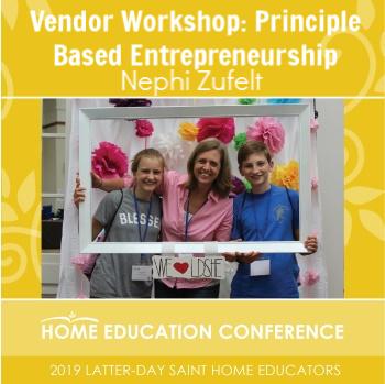 Vendor Workshop: Principle-Based Entrepreneurship