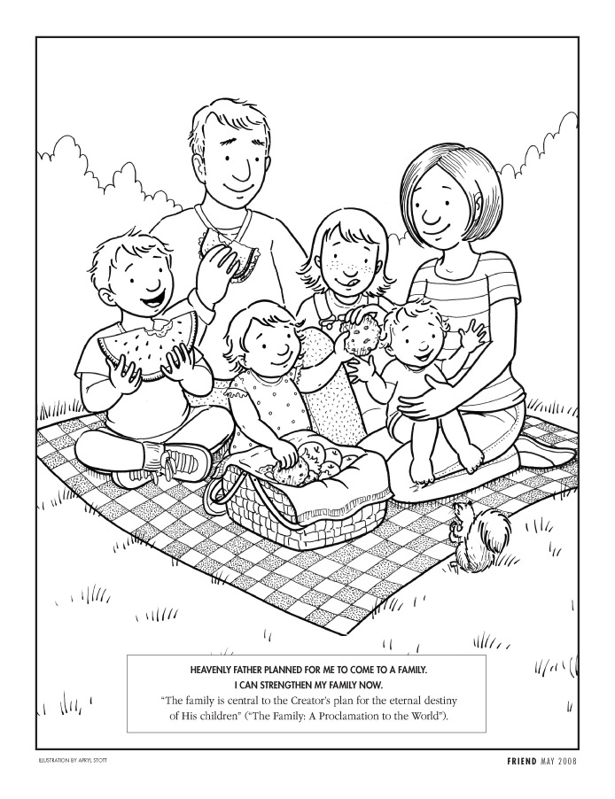 COLORING LDS PAGE PRIMARY « Free Coloring Pages