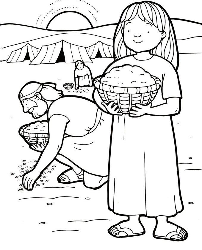 Coloring Pages For Sunbeam Lesson 31 Coloring Pages