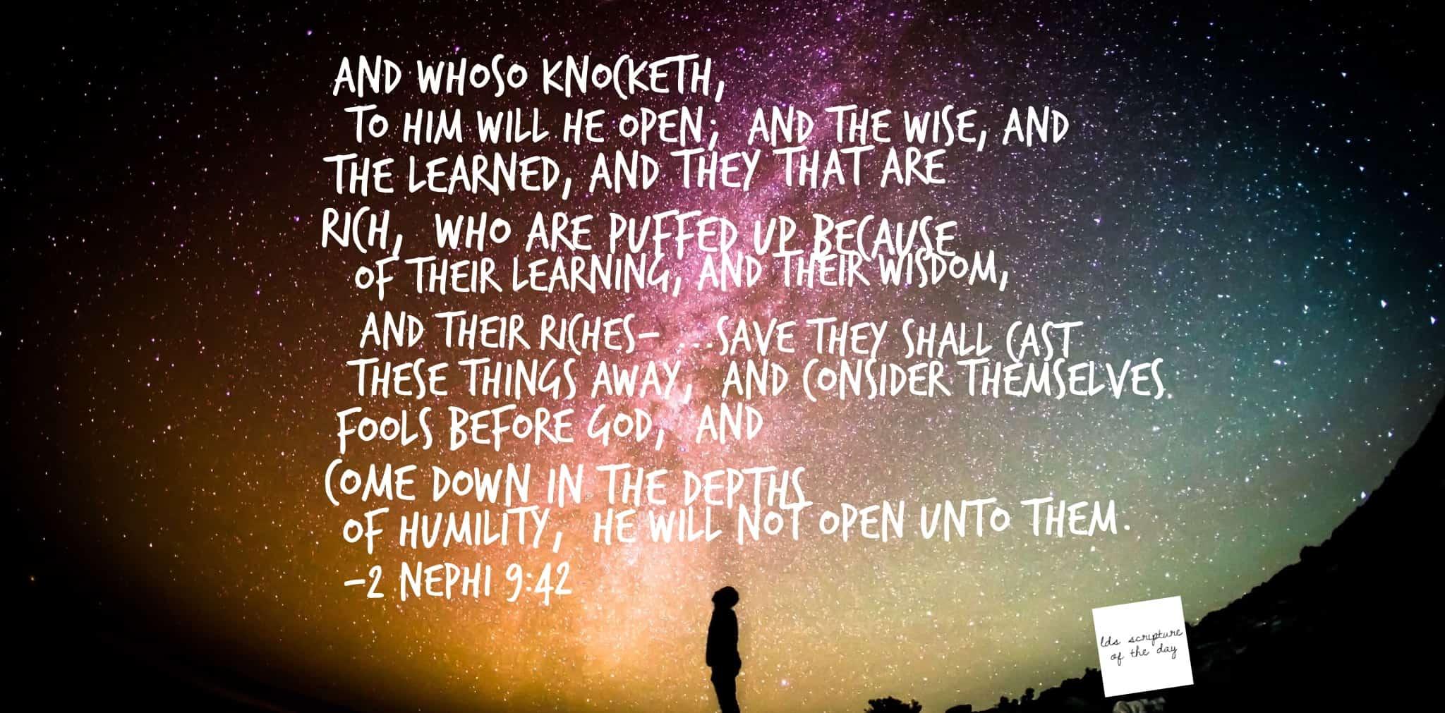 2 Nephi 9:42