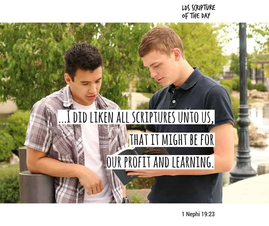 1 Nephi 19:23