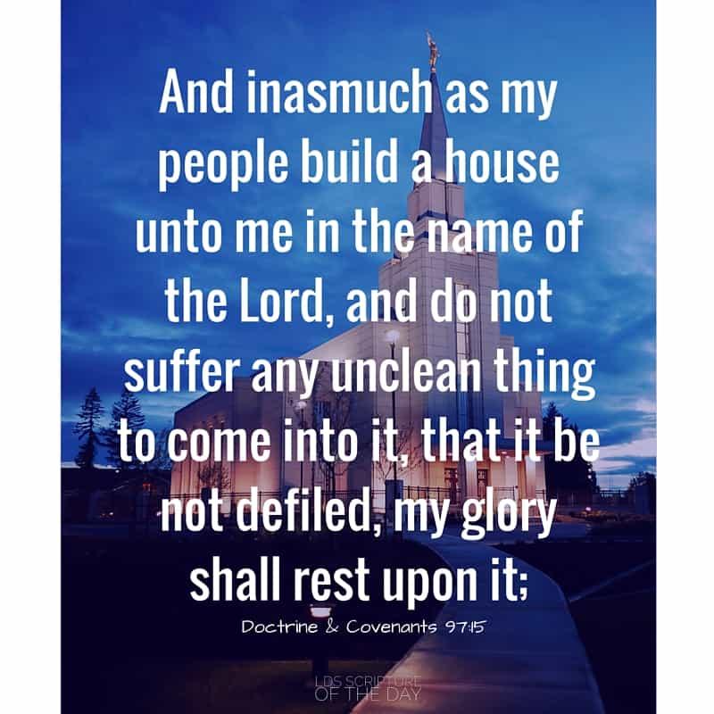 Doctrine & Covenants 97:15