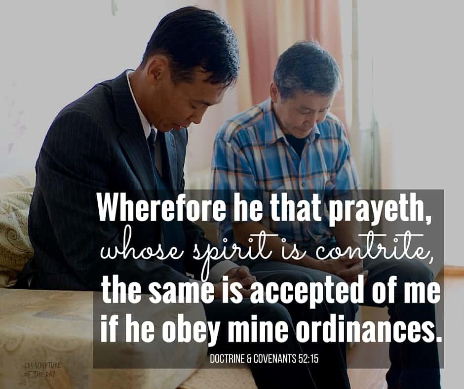 Doctrine & Covenants 52:15