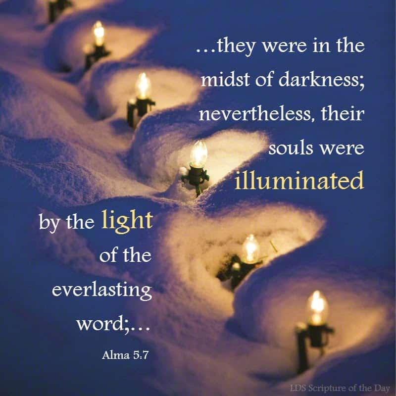 Alma 5:7