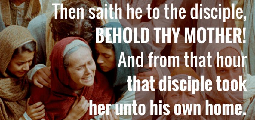 Image result for John 19:27
