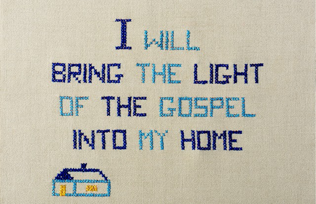 I will bring the light of the gospel into my home