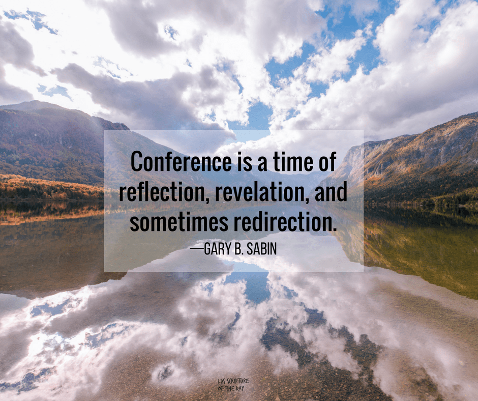 Conference is a time of reflection, revelation, and sometimes redirection