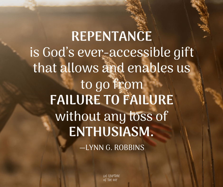 Repentance is God's ever-accessible gift