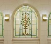 Laie Hawaii Tree of Life window