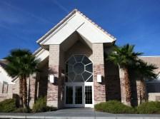 LDS Chapel entrance in Las Vegas