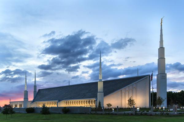 Boise Idaho Temple Photos  LDS Temple Photography