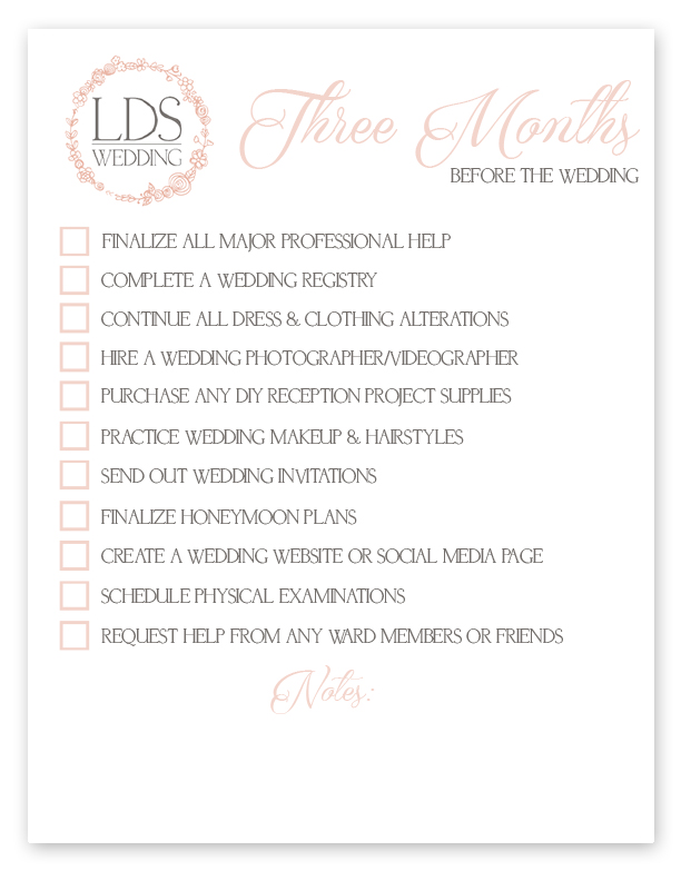 picture regarding Printable Wedding Photography Checklist identify LDS Wedding day Checklists Cost-free Printable for All Your