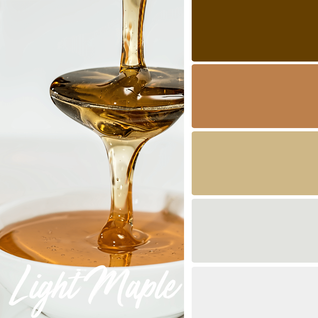 Light Maple - 25 Fall Wedding Colors Any Bride & Groom Will Love