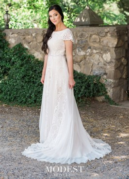 4 Modest Wedding Dress Designers - Mon Cheri
