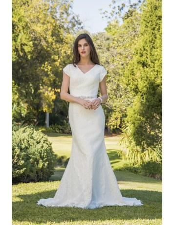 4 Modest Wedding Dress Designers - Venus Bridal
