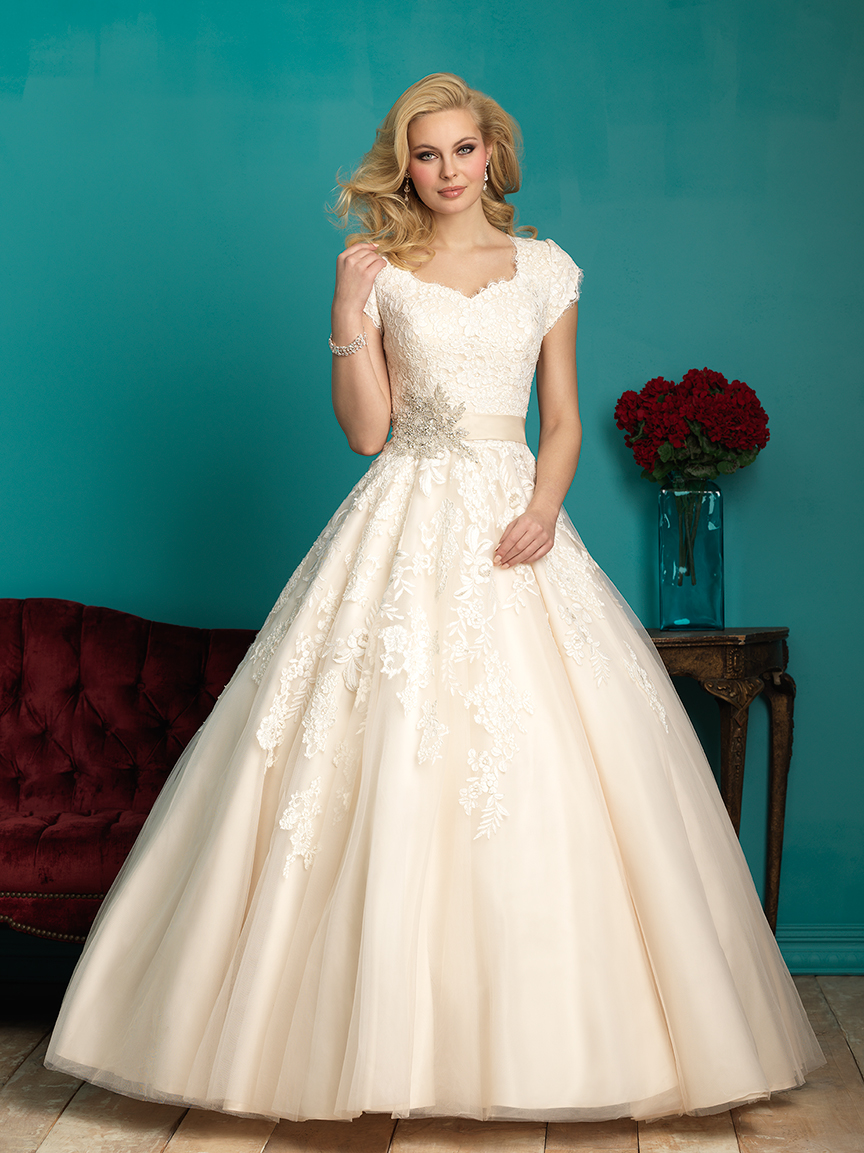25 Modest Ball Gown Wedding Dresses - 10