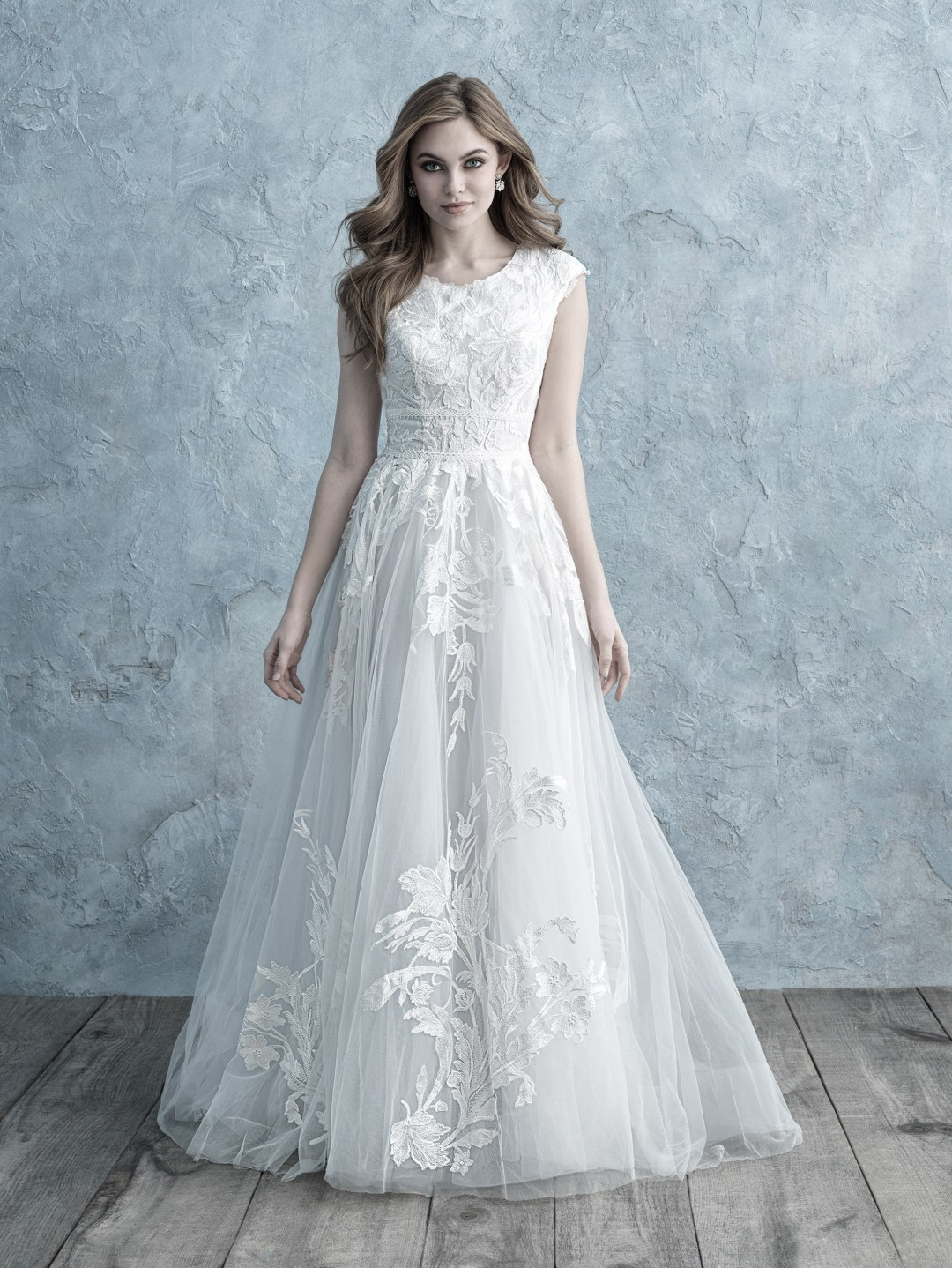 25 Modest Ball Gown Wedding Dresses - 11
