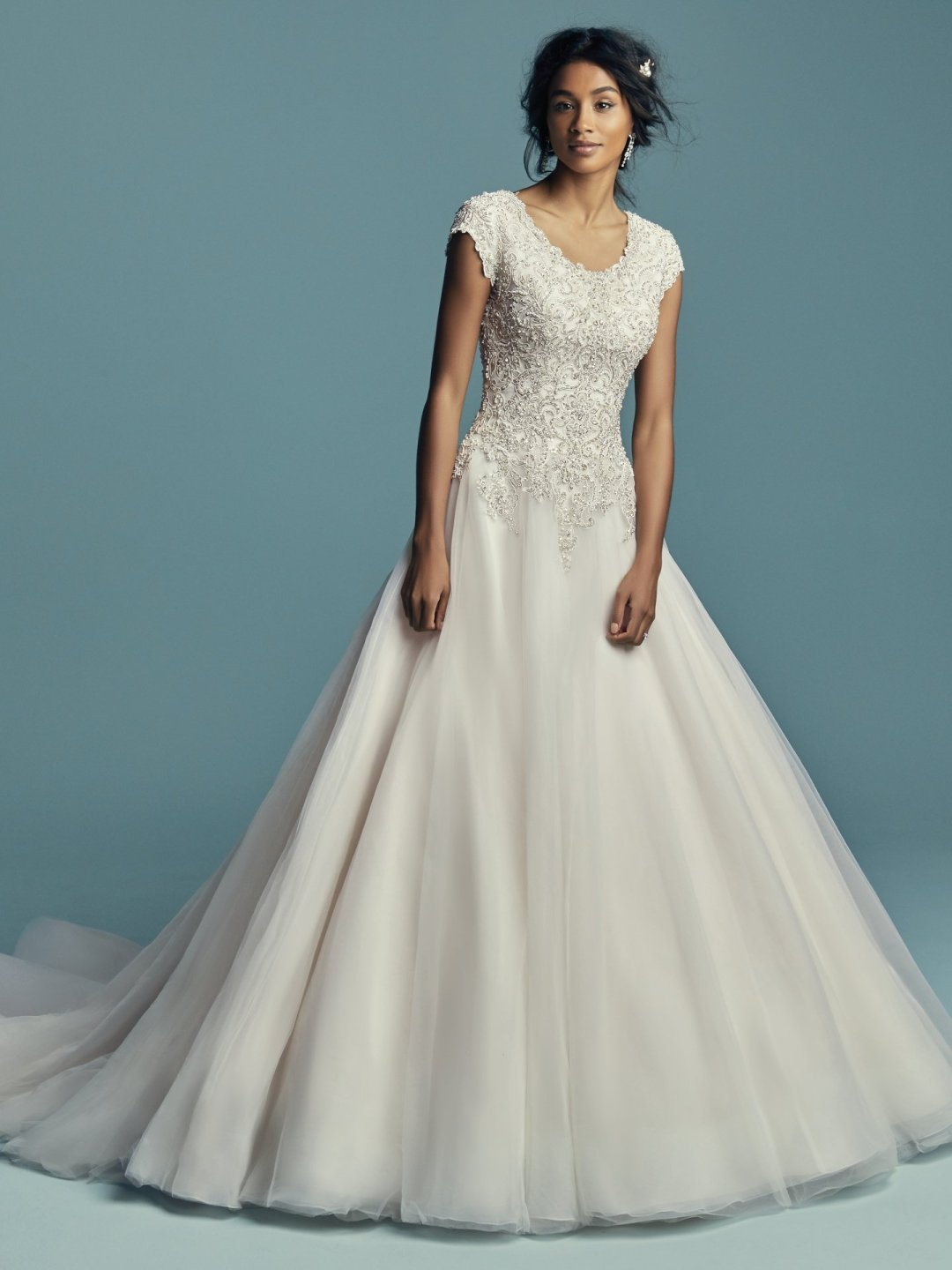 25 Modest Ball Gown Wedding Dresses - 15