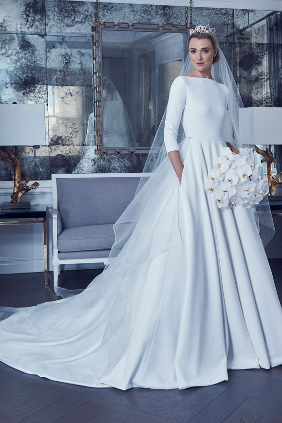 25 Modest Ball Gown Wedding Dresses - 24