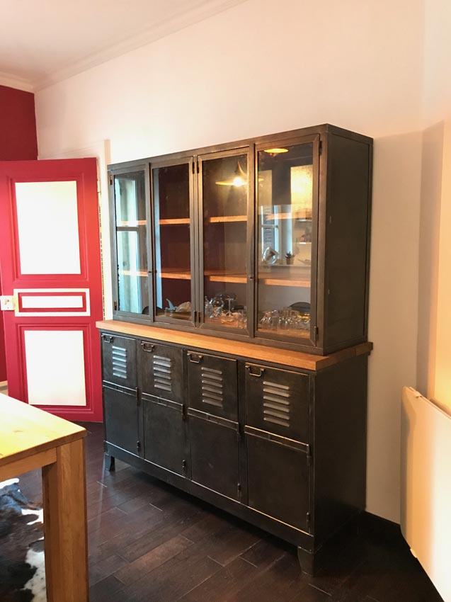meuble de séparation cuisine salon
