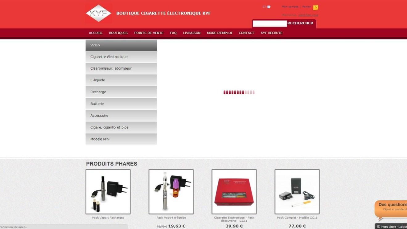 www.e-KYF.com – Web