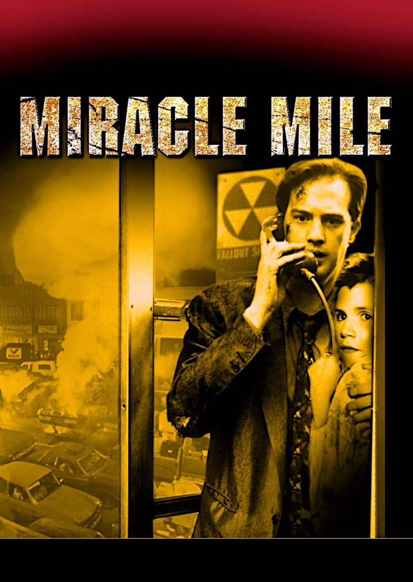 Movie poster for Miracle Mile 1988 ldwolff