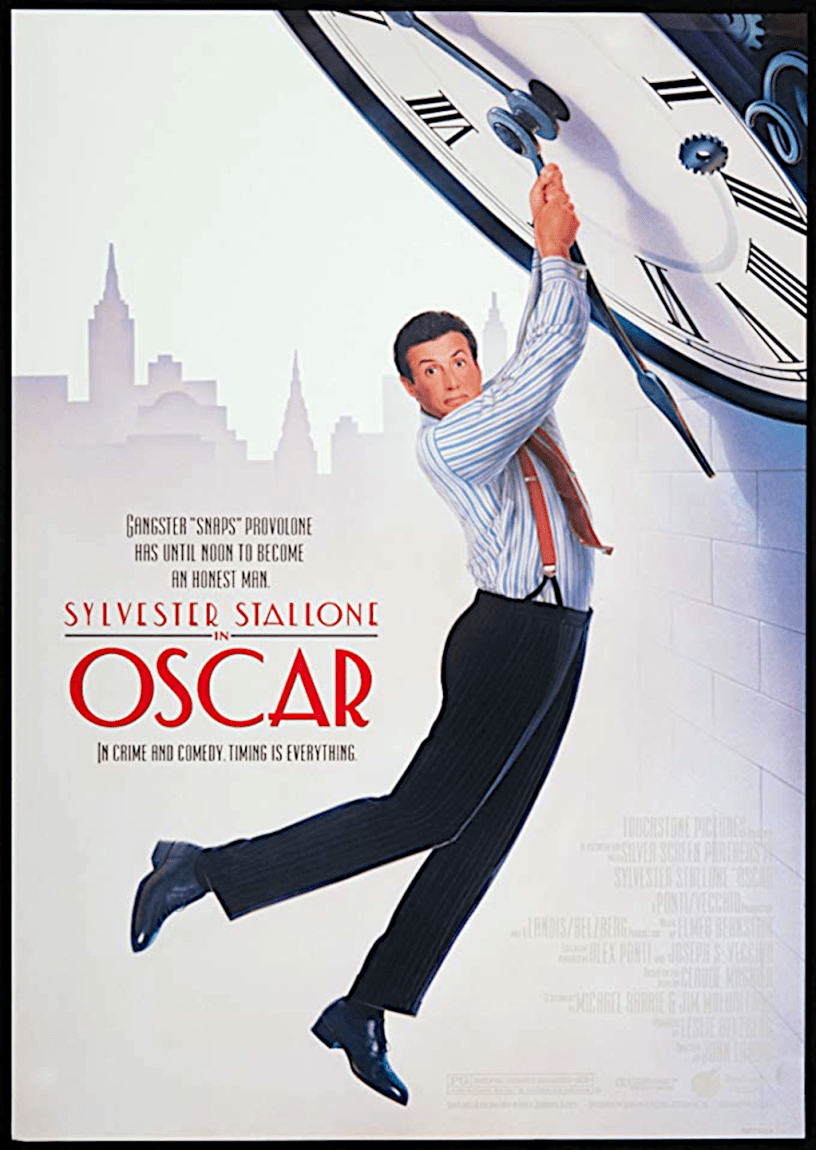Movie poster for Oscar 1991 ldwolff