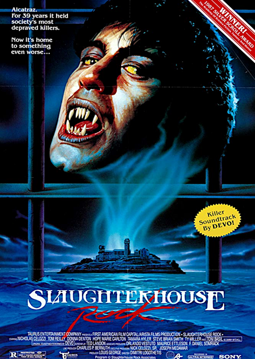 Movie poster for Slaughterhouse Rock 1988 ldwolff