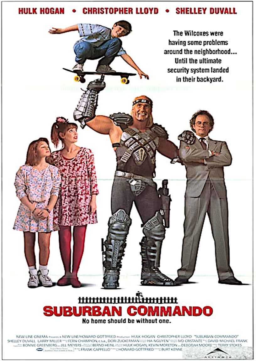 Movie poster for Suburban Commando 1991 ldwolff