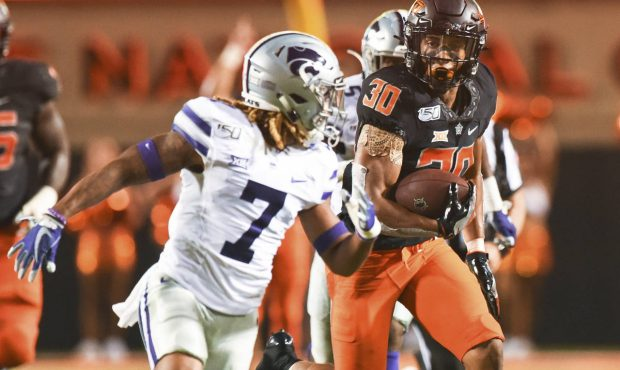 Image result for Chuba Hubbard Photos Against Kansas State