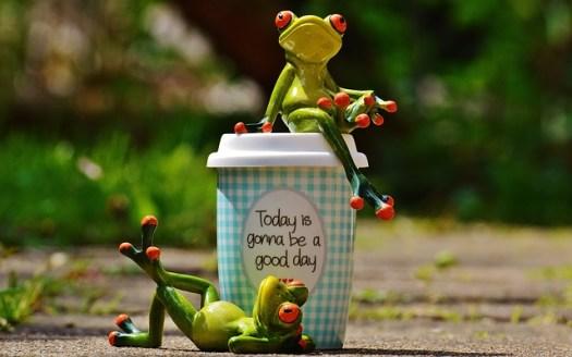 Aujourd'hui sera une bonne journée heureuse et réussie
