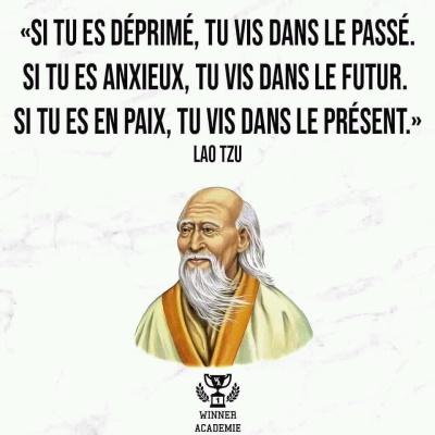 Vivre l'instant présent