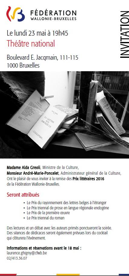 invitation prix 2016