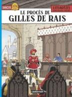 Le procès de Gilles de Rais couverture Casterman