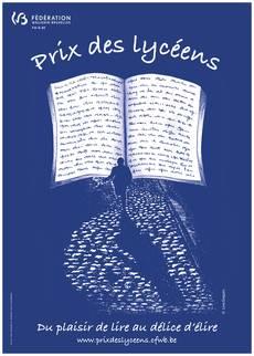 affiche du prix des lycéens de littérature
