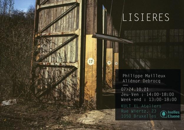 Affiche exposition Lisières