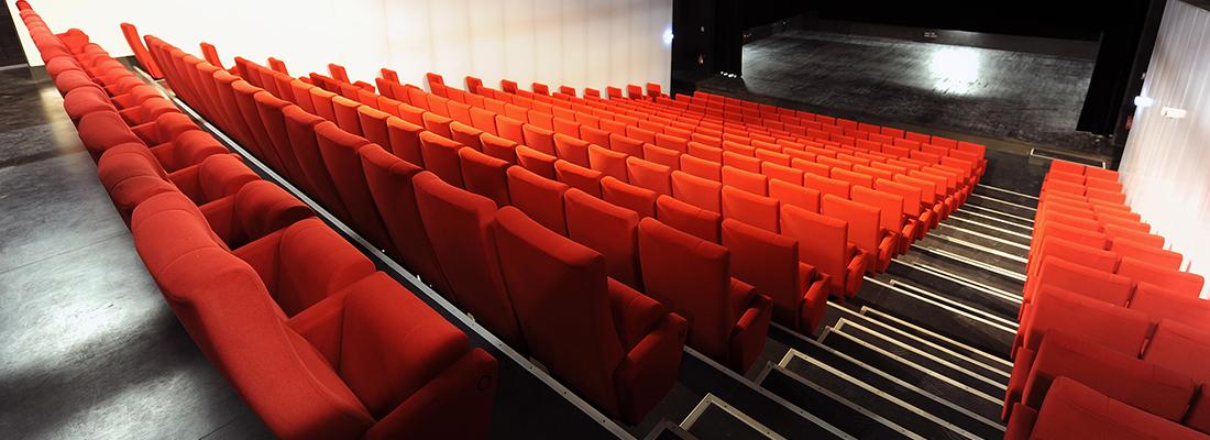 la salle de spectacle carre blanc