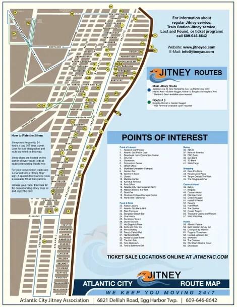 Map Of Atlantic City Casino : atlantic, casino, Public, Transportation, Services, Harbor, Township