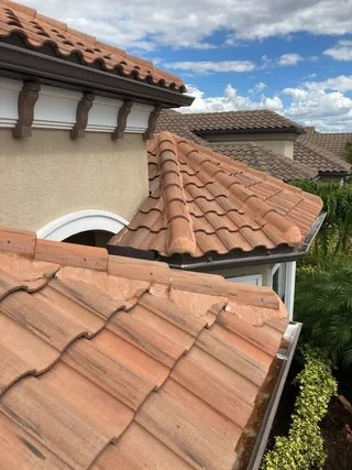 tile roof cleaning tile roof washing