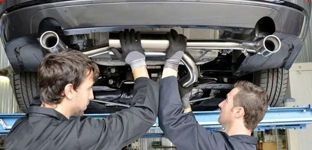 exhaust repairs catalytic converter