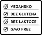 femidoc® MyDays®  Claims: vegan, glutenfrei, lactosefrei, non-gmo