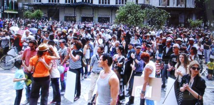 Contre le projet TDN d'AREVA / Malvési : manifestation réussie !