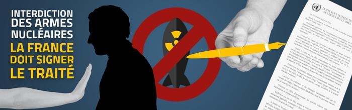 Armement Nucléaire- Lettre au Président de la République française
