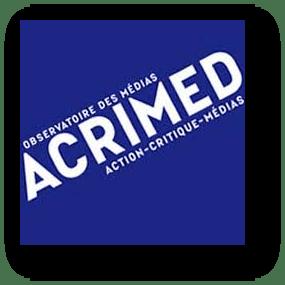 """Action CRItique MEDia (ACRIMED) est une association fondée an 1996 par Pierre Bourdieu et Henri Maler. Son but est d'être un """"observatoire des media... au service d'une critique indépendante, radicale et intransigeante"""""""