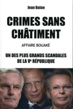 """""""Crimes sans châtiment"""" - un livre de Jean Balan"""