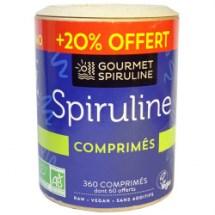 Spiruline Gourmet bio (360 comprimés)