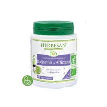 Radis noir et Artichaut bio (120 comprimés) - Herbesan