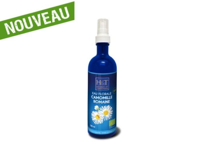 Eau Florale de Camomille Romaine bio (200 ml) - Herbes & Traditions