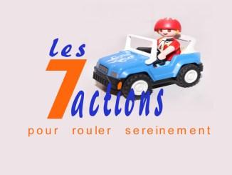 les 7 actions